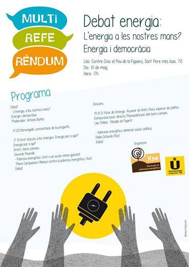 cartell debat energia mrf