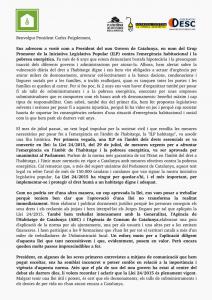 Carta a Puigdemont
