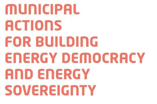 Proposta municipalista 2019